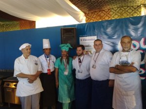 Chefs in the final as voted by the public