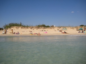 Another positive externality of Italy's lingering summer - Salento, 3 October 2011