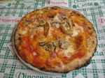 The Pizza Maradona at Pizzeria Vincenzo Costa in Naples