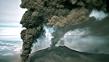 Etna, 12 April 2012, compliments of Catania Today