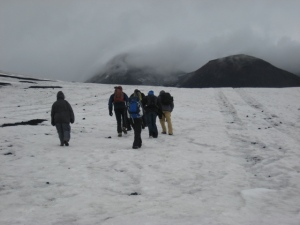 Heading up towards Etna's peak, 11 April 2012