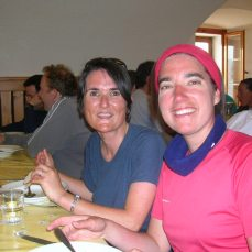 Carole (left) and Karine