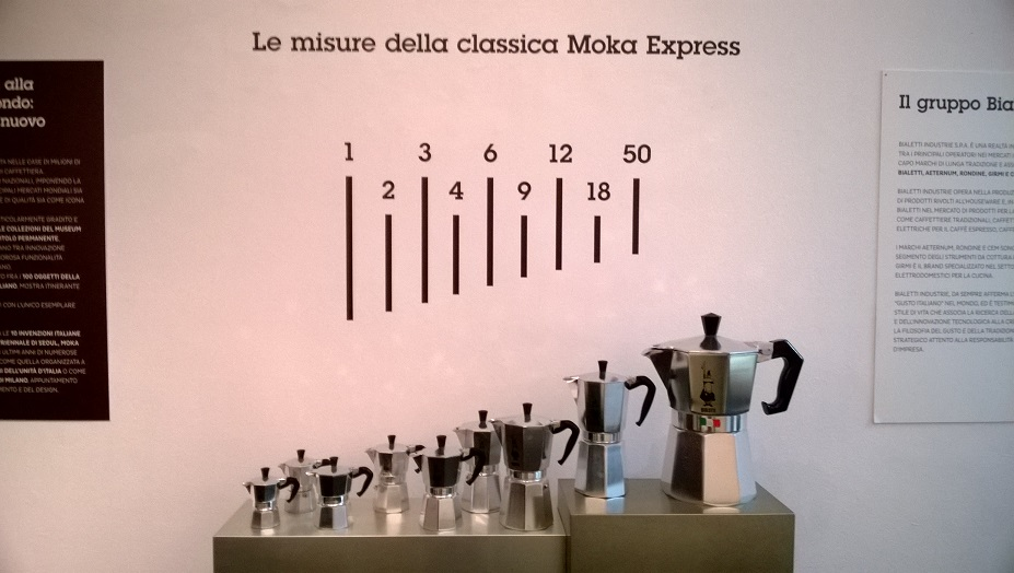 Next time you have 49 friends for dinner remember to pull out the 50-person moka