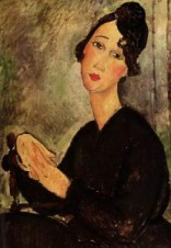 Amedeo Modigliani, Portrait of Dedie