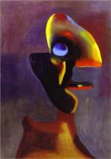 Joan Miro, Head of a Man