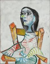 Pablo Picasso, female portrait