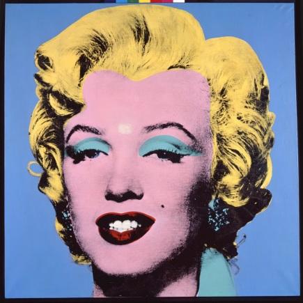 Blue Shot Marilyn by Andy Warhol