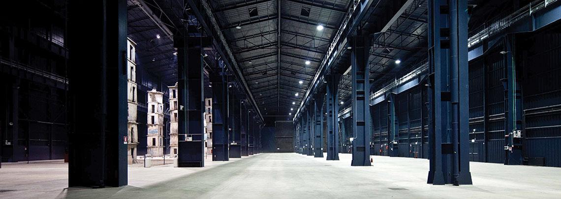 HangarBicocca interior