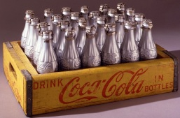 Silver Coke Bottles by Andy Warhol